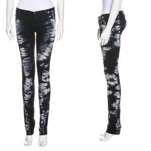 J. Brand Rock Star Tye Dye Skinny Pants